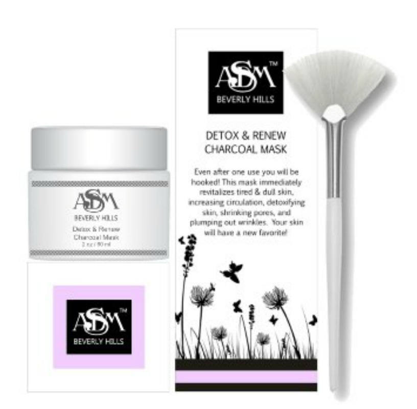 ASDM Beverly Hills Charcoal Mask Company