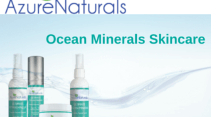 Azure Naturals Ocean Minerals Skincare Review & Giveaway: ENDED 09/01/15