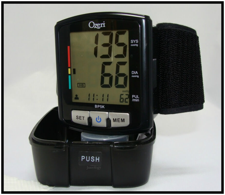 Ozeri Digital Blood Pressure Monitor with Reading