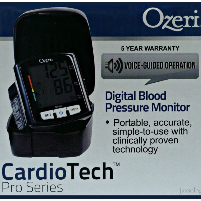 Ozeri Digital Blood Pressure Monitor Box