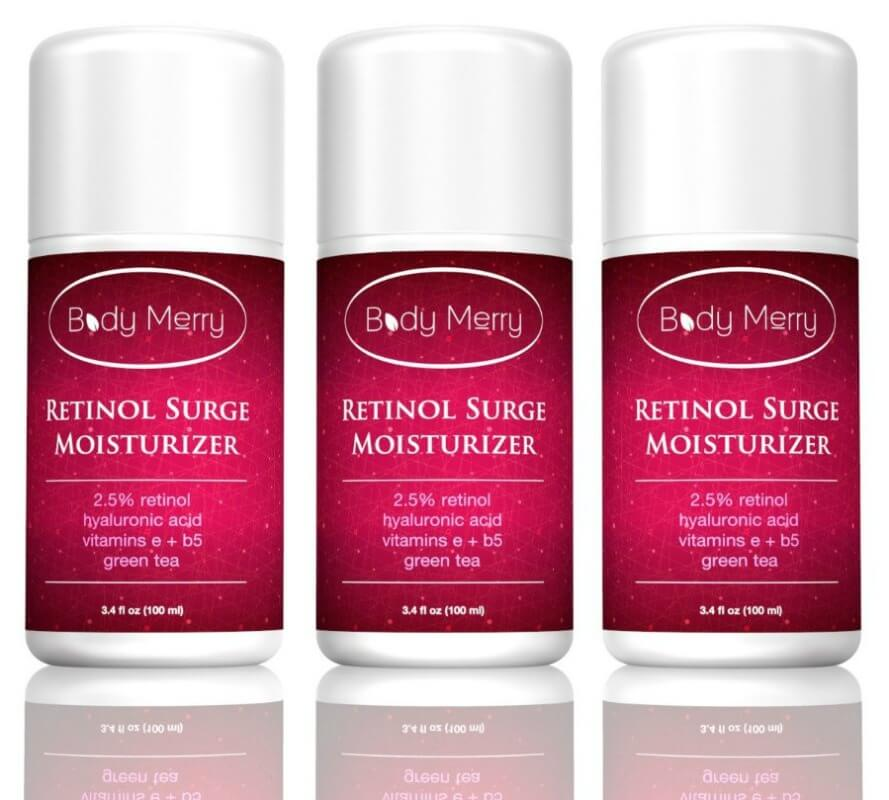 Happy Skin Again! Body Merry Retinol Surge Moisturizer Review
