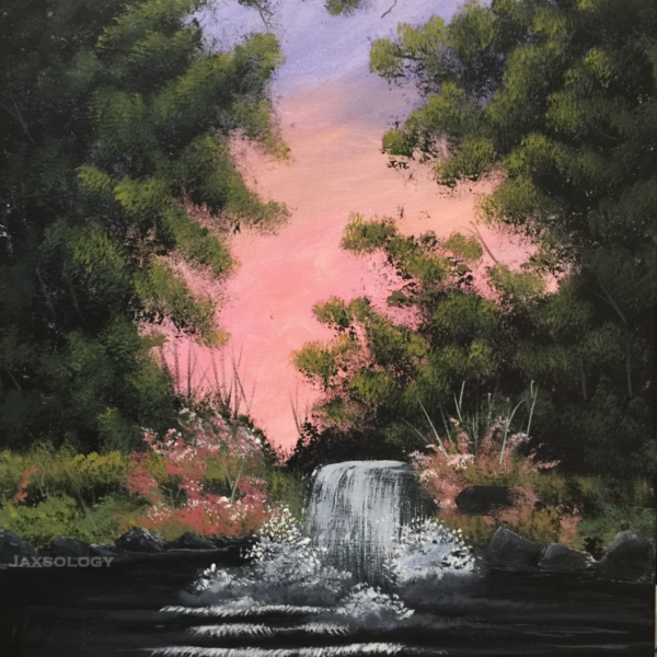 Chasing Waterfalls Canvas Art for Sale