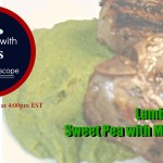 Lamb Chops and Sweet Pea with Mint Puree