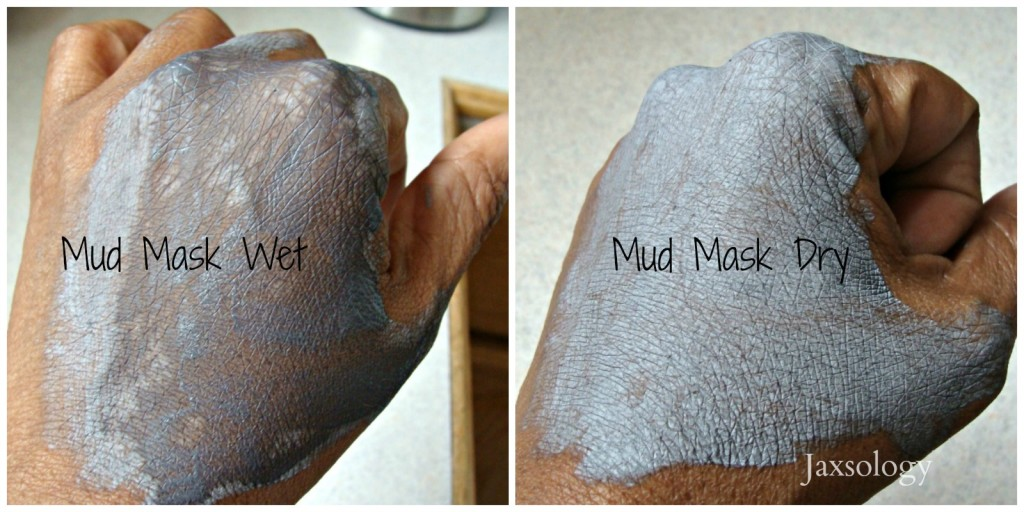 Glam Essentials Hello Cutie Mud Mask wet and dry