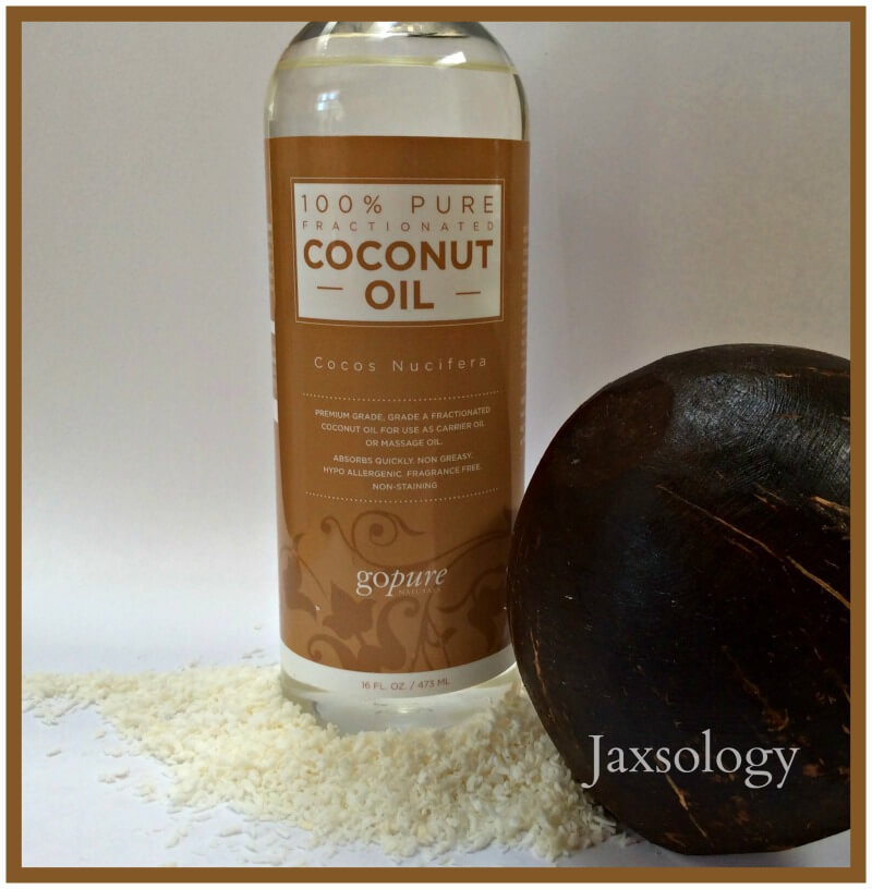 GoPure Fractionated Coconut Oil Display