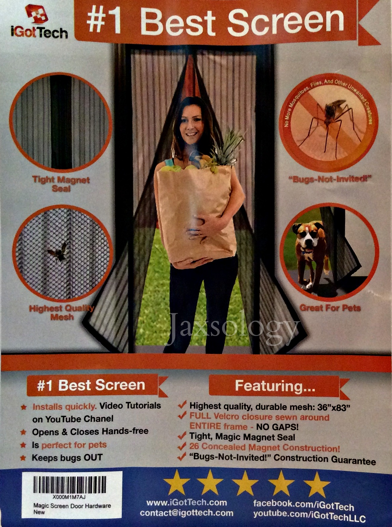 3 Top Reasons to Try iGotTech's Magnetic Screen Door-Review