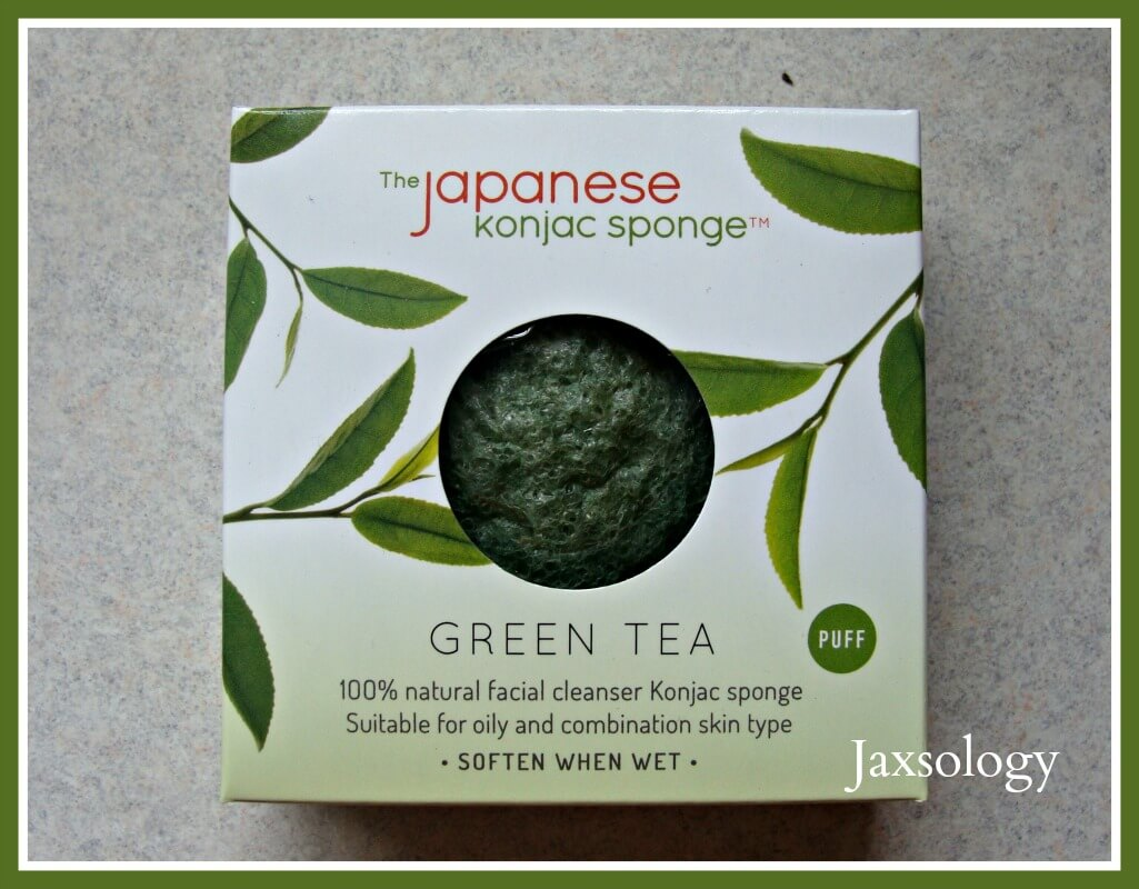 Japanese Konjac Sponge in the box