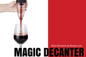 Fine Wine Every Time with the Magic Wine Decanter by Rowpa