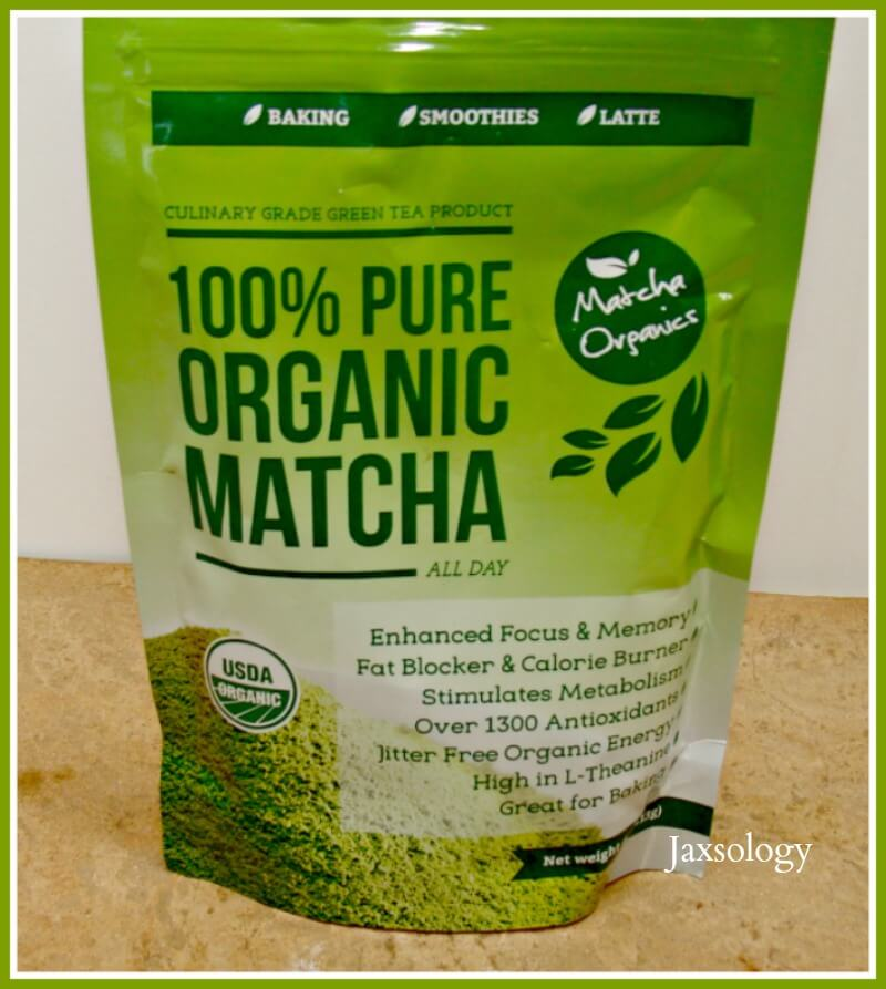 Matcha Organics Green Tea Powder Bag