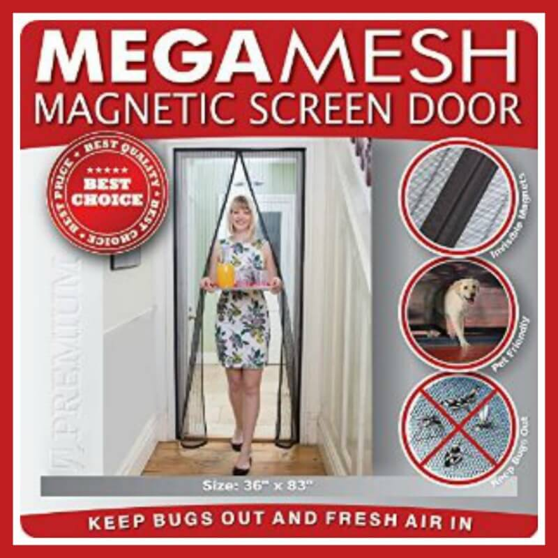 Mega Mesh Premium Magnetic Screen Door by Easy Install Review
