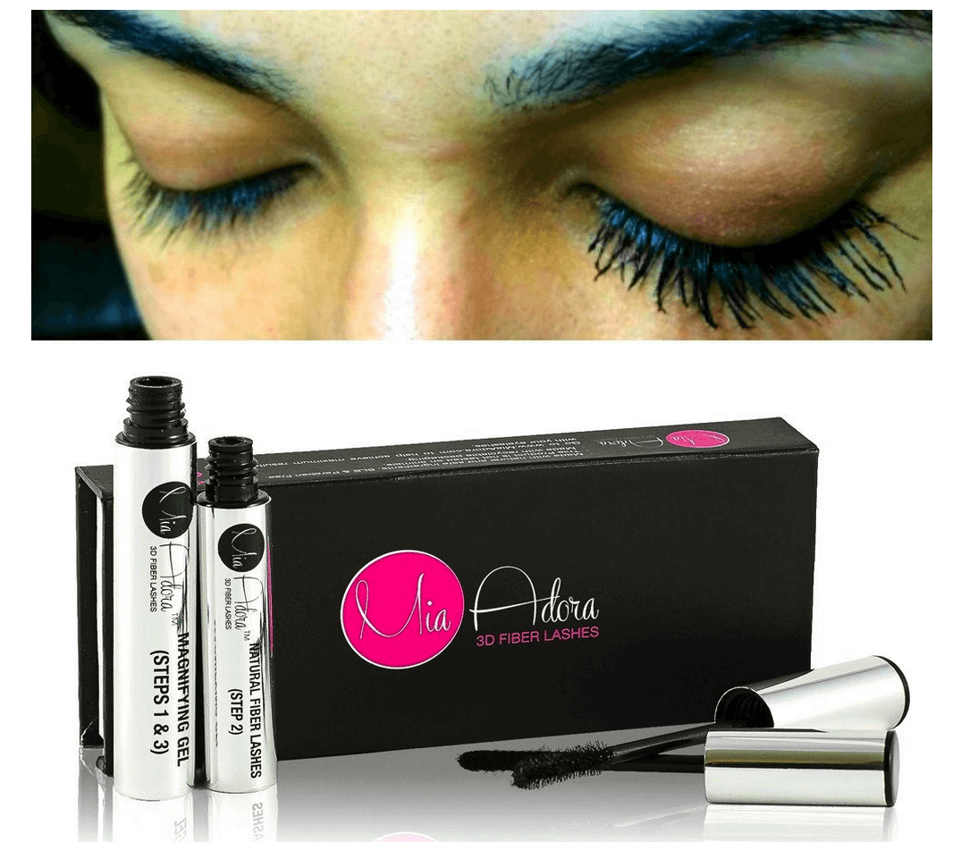 Great Lashes In 3 Simple Steps with Mia Adora 3D Fiber Lashes Mascara
