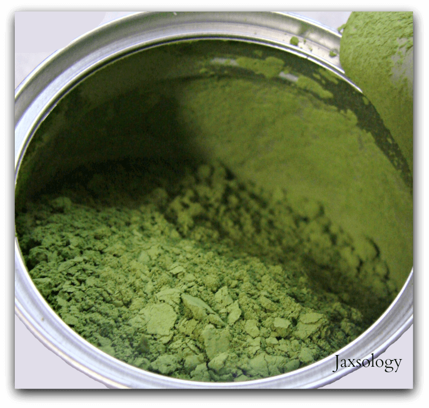 Midori Spring Matcha Green Tea Powder Opened Can