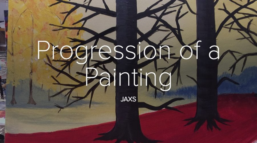 A Painting for my Sister – A Lesson in Inspiration
