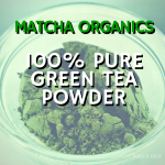 Matcha Organics 100% Pure Matcha Green Tea Powder & Giveaway (Ended 5/24/14)