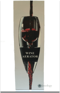 Wine Concierge Wine Aerator with Wine