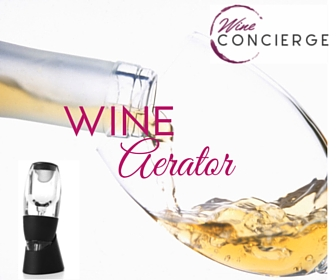 Wine Concierge Wine Aerator Graphic