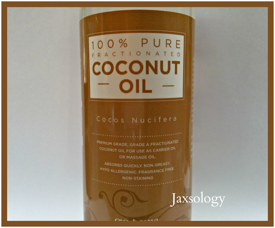 GoPure Fractionated Coconut Oil Front Label
