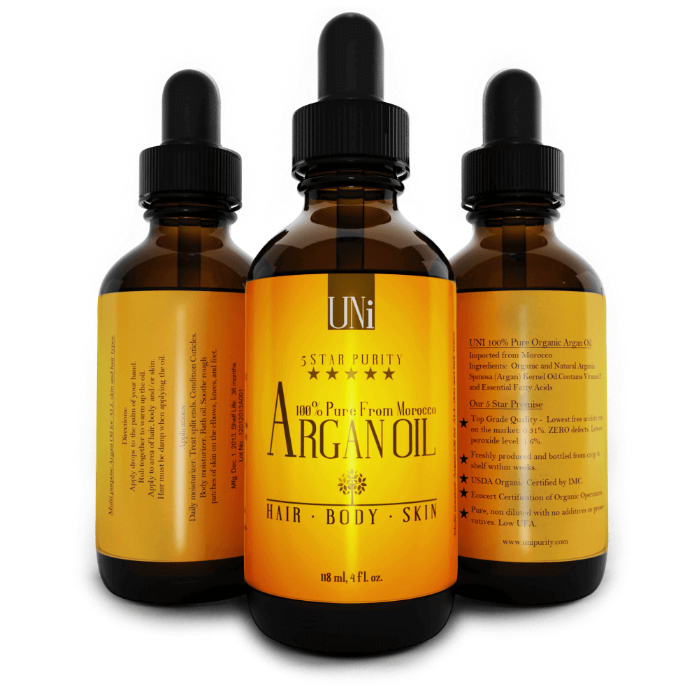 Uni 100% Pure Premium Argan Oil Review